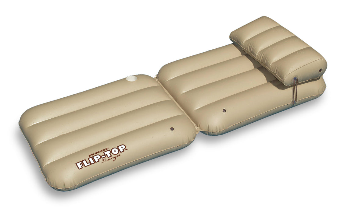 Flip Top Multi Position Lounger Pool Float