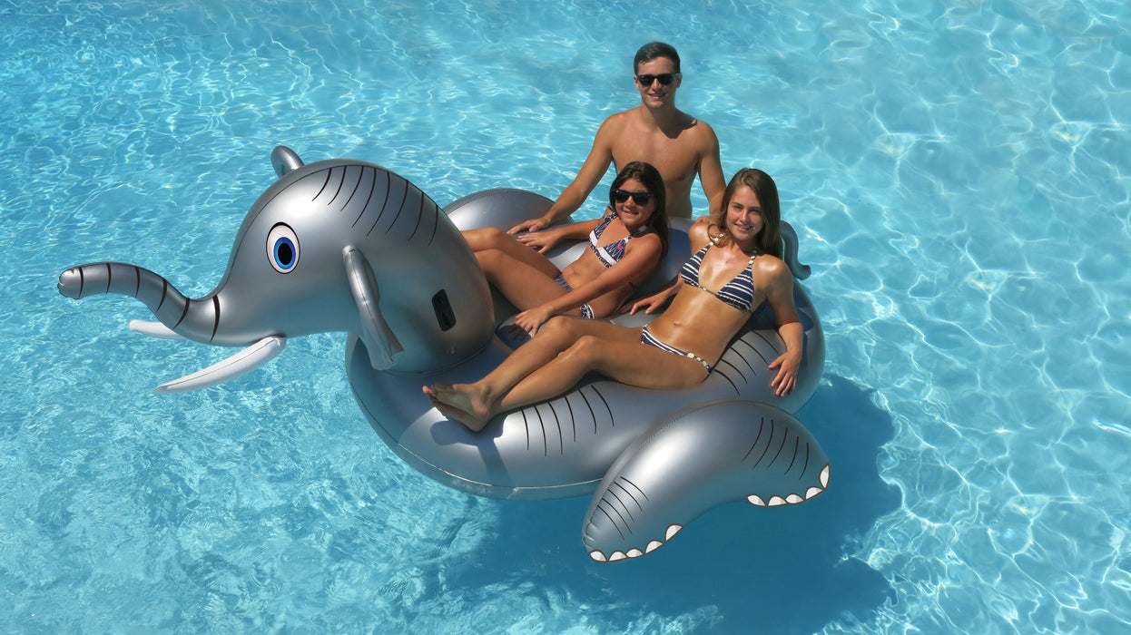 Giant Elephant Ride-On Inflatable Pool Float