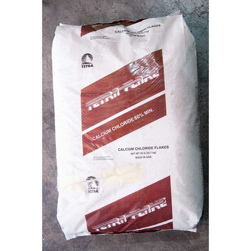 Calcium Chloride Flakes For Pools 50 Lbs.