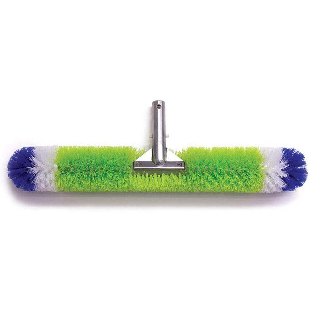 24 in. 360° Brush Around Wall and Floor Pool Brush