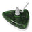 Translucent Tri-Vacuum Head  Platinum Pro Series (Green)