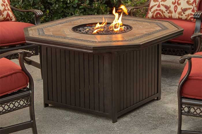 Westminster Outdoor Gas Fire Pit