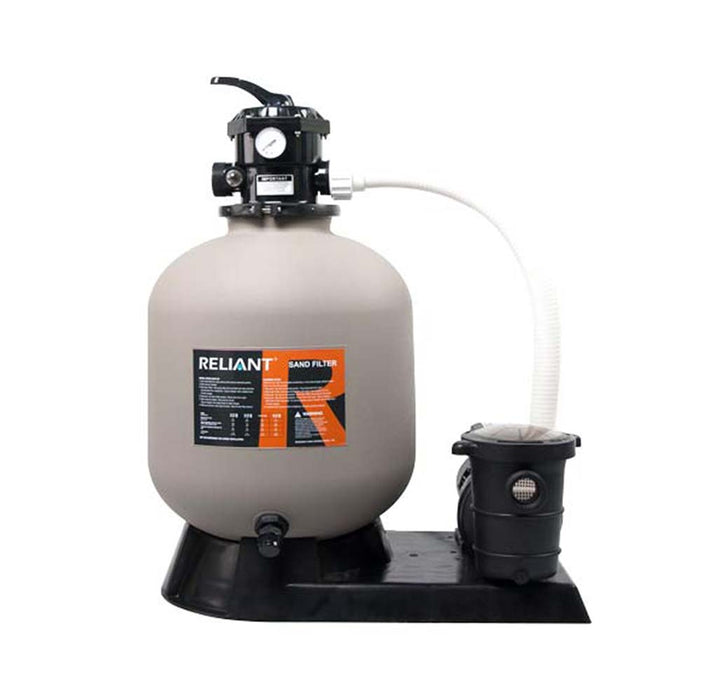 "Above Ground 19"" Sand Filter Combo w/ 1 HP Pump"