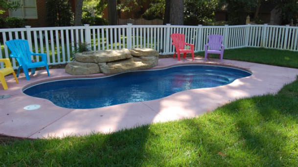 Aruba Natural Fiberglass Pool