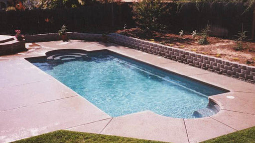 Montego Custom Fiberglass Pool