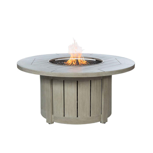 Belfort Wingback Club Chair / Fire Pit Set by Ebel