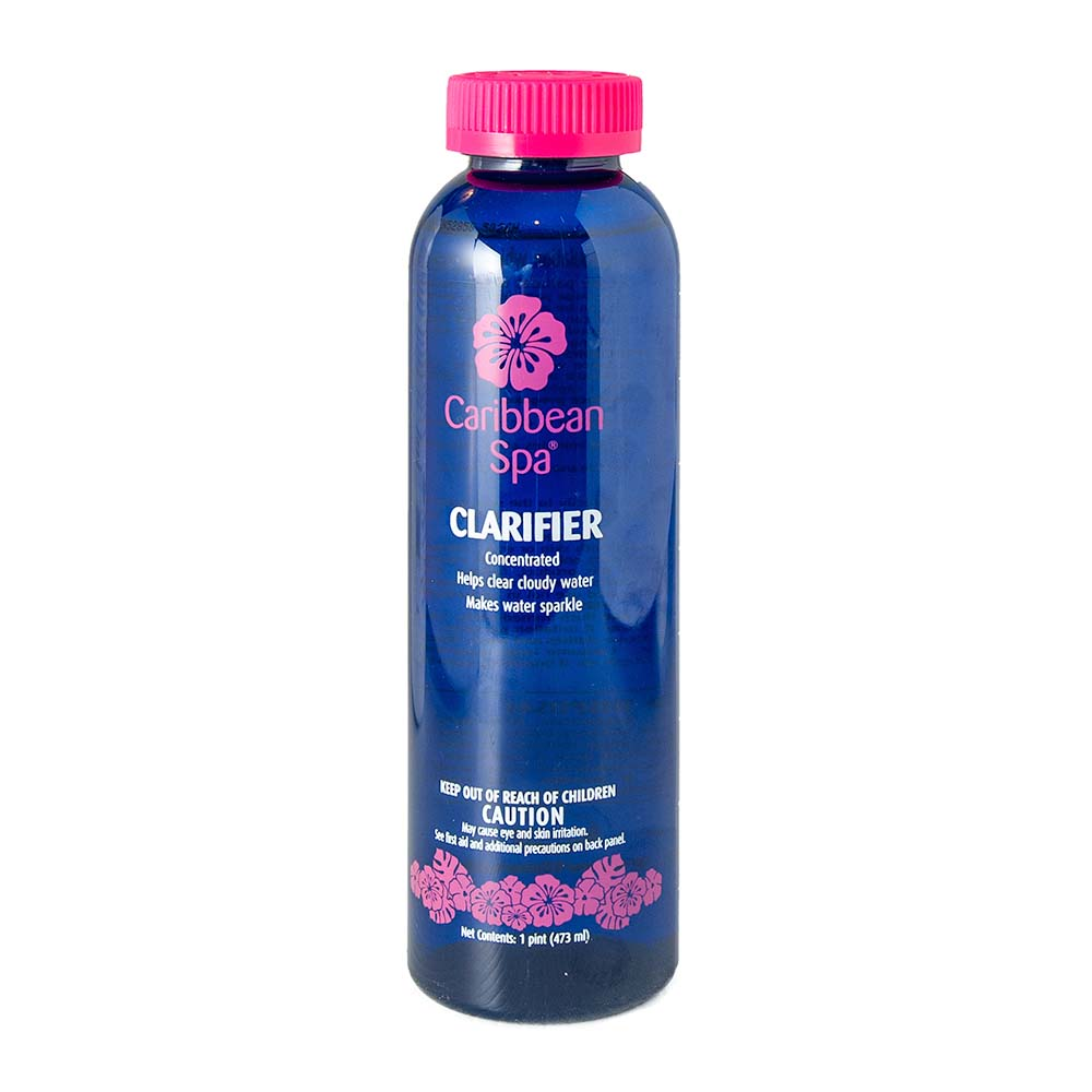 Caribbean Spa Clarifier to Clear Cloudy Water in Hot Tubs