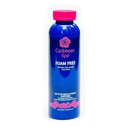 Caribbean Spa Foam Free For Hot Tubs 16oz.