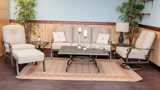Cortland Outdoor Sofa Set by Woodard