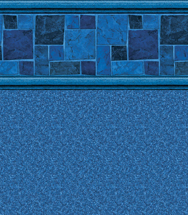 Courtstone Blue Natural Blue In Ground Pool Liner