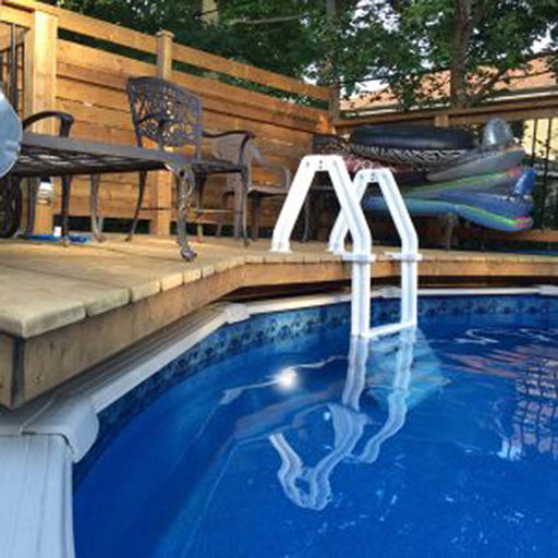 Deck Ladder Pool Entry