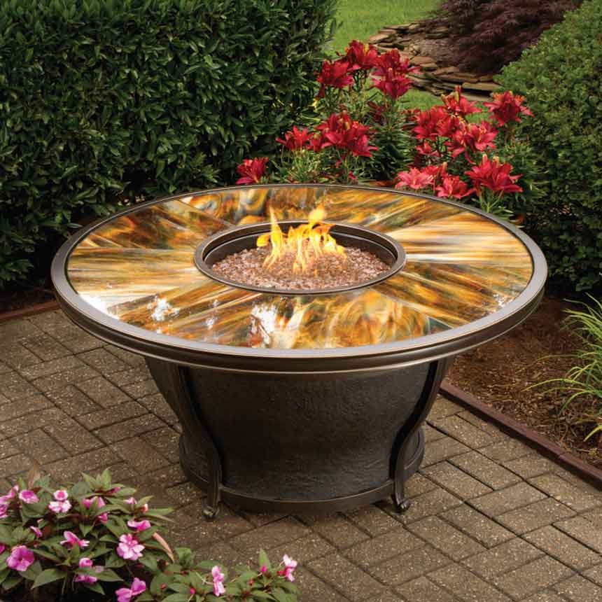 Moonlight Fire Pit Table