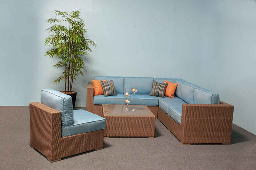 Fina Outdoor Sectional Set by Great Backyard Place