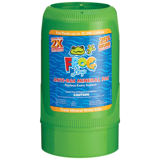 Frog Leap Anti-Bacterial Mineral Pac for Pools