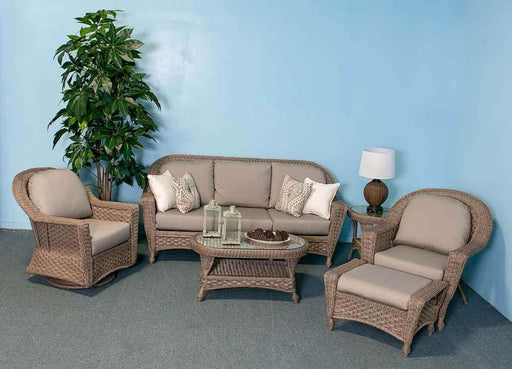 Georgetown Outdoor Sofa Set (Spectrum Dove) by NCI North Cape International