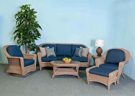 Georgtown Outdoor Sofa Set (Spectrum Indigo) by NCI North Cape International