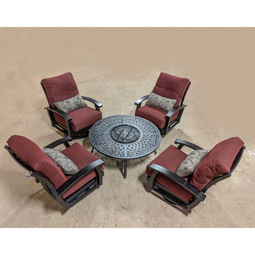 Georgetown Outdoor Fire Pit Set