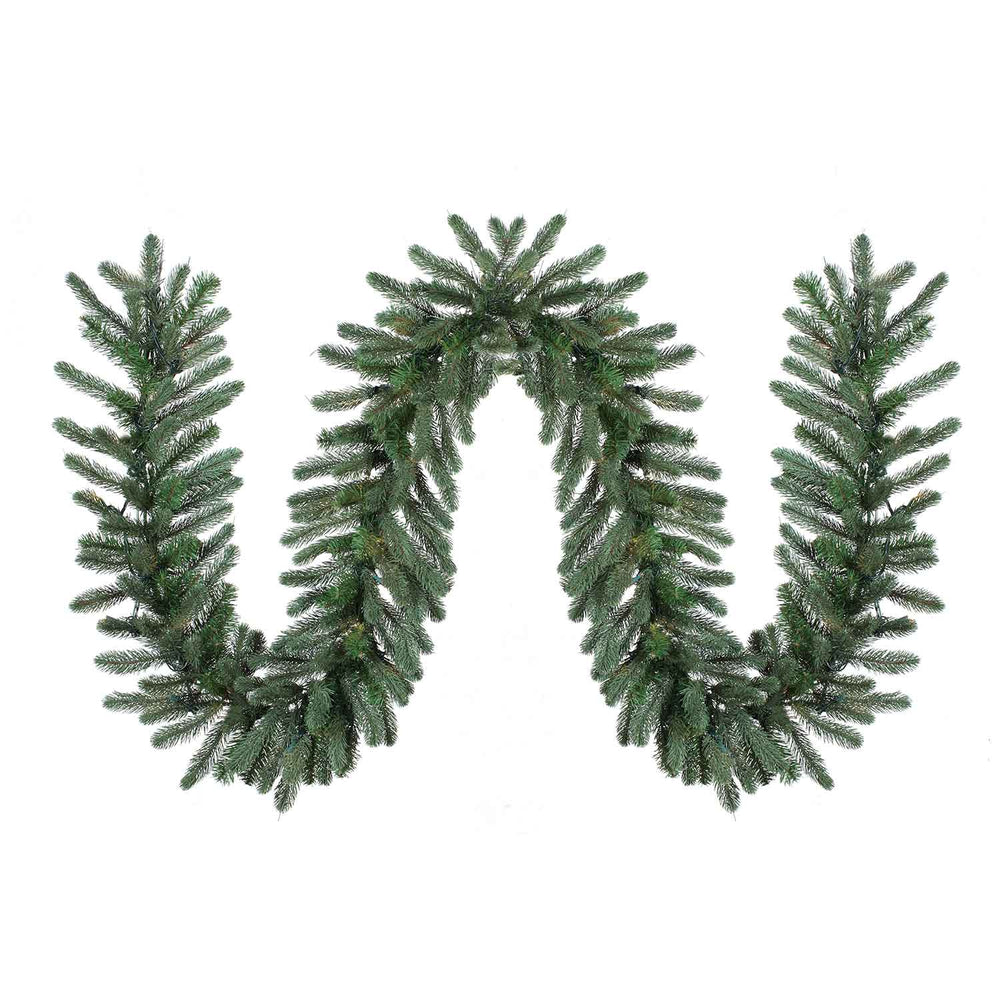 "Frosted Pine 9'x14"" Garland (Unlit) by Santa'S Own - GFP914"