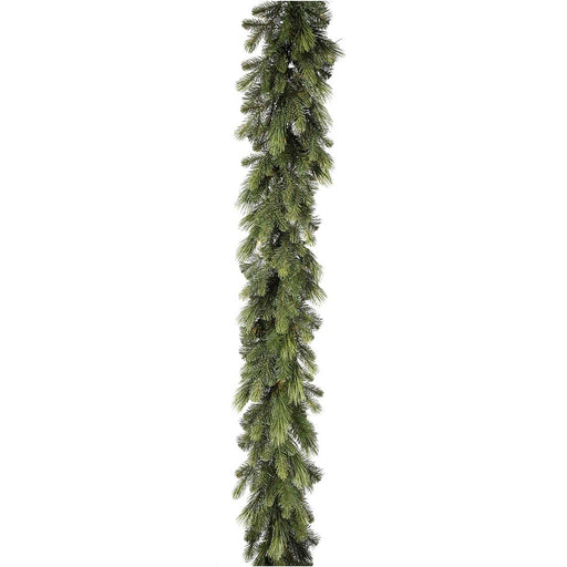 Deluxe Mixed Pine PE 6'  Christmas Garland (Unlit) by Regency Trees - GMP6