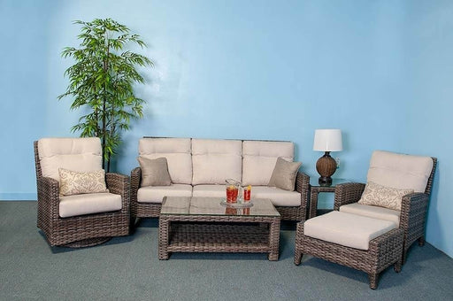 Grand Palm Outdoor Sofa Set (Echo Ash) by NCI North Cape International