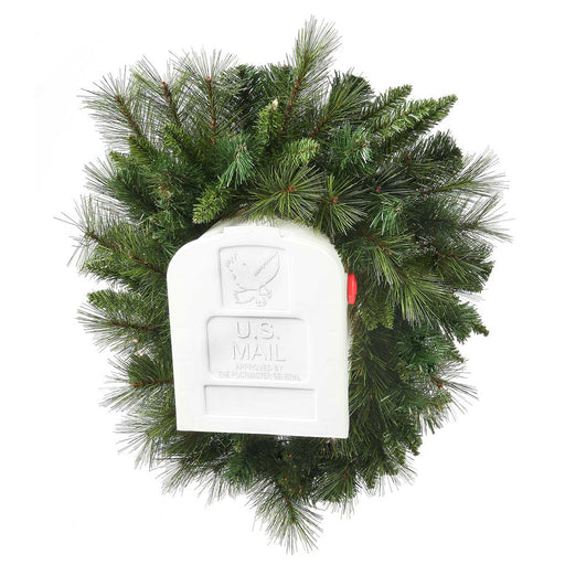 Belgium  3'  Christmas Mailbox Swag (Unlit) by Regency Trees - MBS3