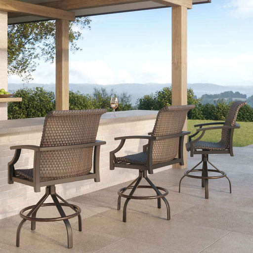 Marconi Woven Outdoor Dining Set