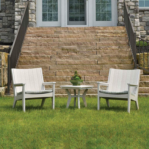 Mayhew Chat Chair Poly Patio Lawn Outdoor Furniture MHCTC2734