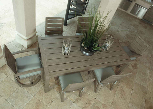 "Napoli 43"" Square Patio Dining Set by Ebel"