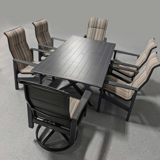 "Newport 76"" Sling Patio Dining Set"