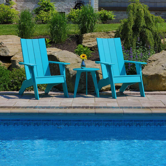 Teal Adirondack Chairs