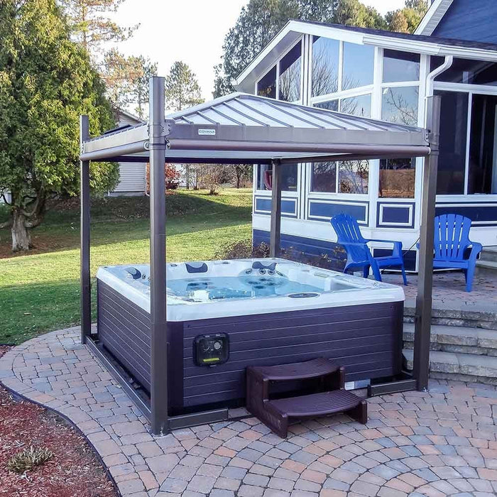 Oasis Slate LED Spa Cover