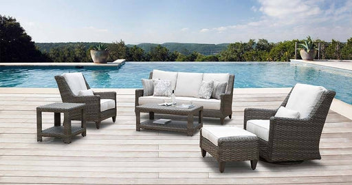 Oconee Woven Patio Sofa Set