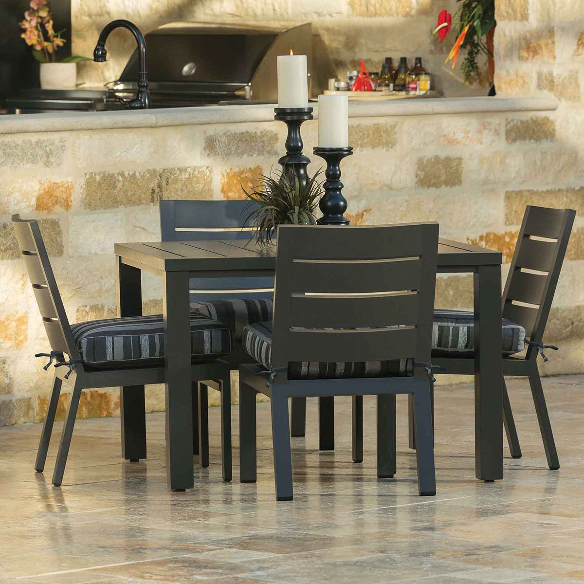 Palermo Dining Set Outdoor Furniture Great Backyard Place