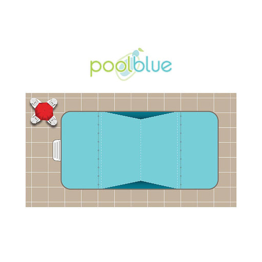 Rectangle 2R Classic Vinyl Pool