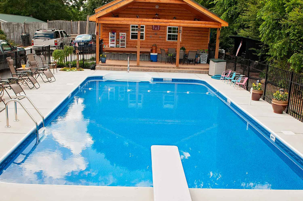 Rectangle 4R Premium Vinyl Pool