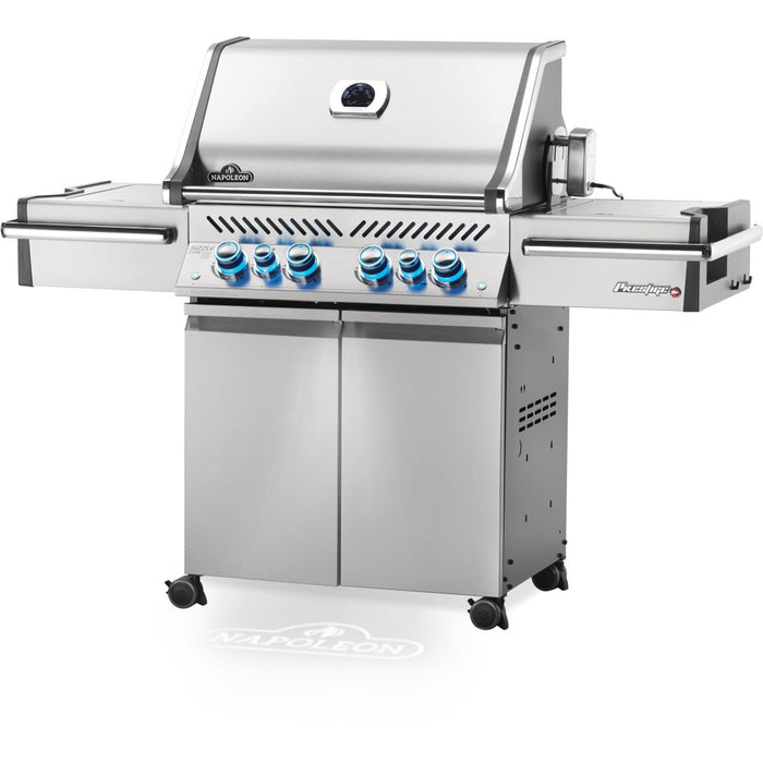 Prestige PRO 500 Stainless Steel Propane Gas Grill with Infrared Rear and S