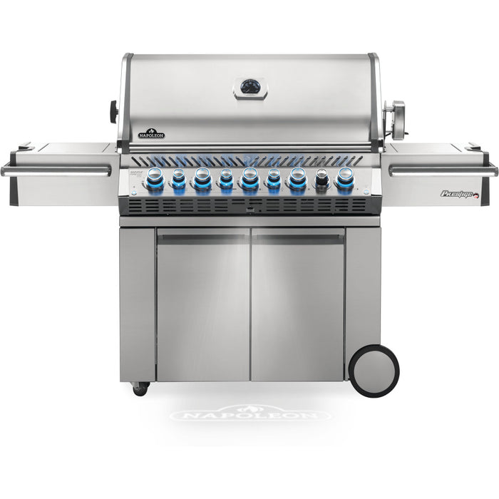Prestige PRO  665 Stainless Steel Propane Gas Grill with Infrared Rear and S