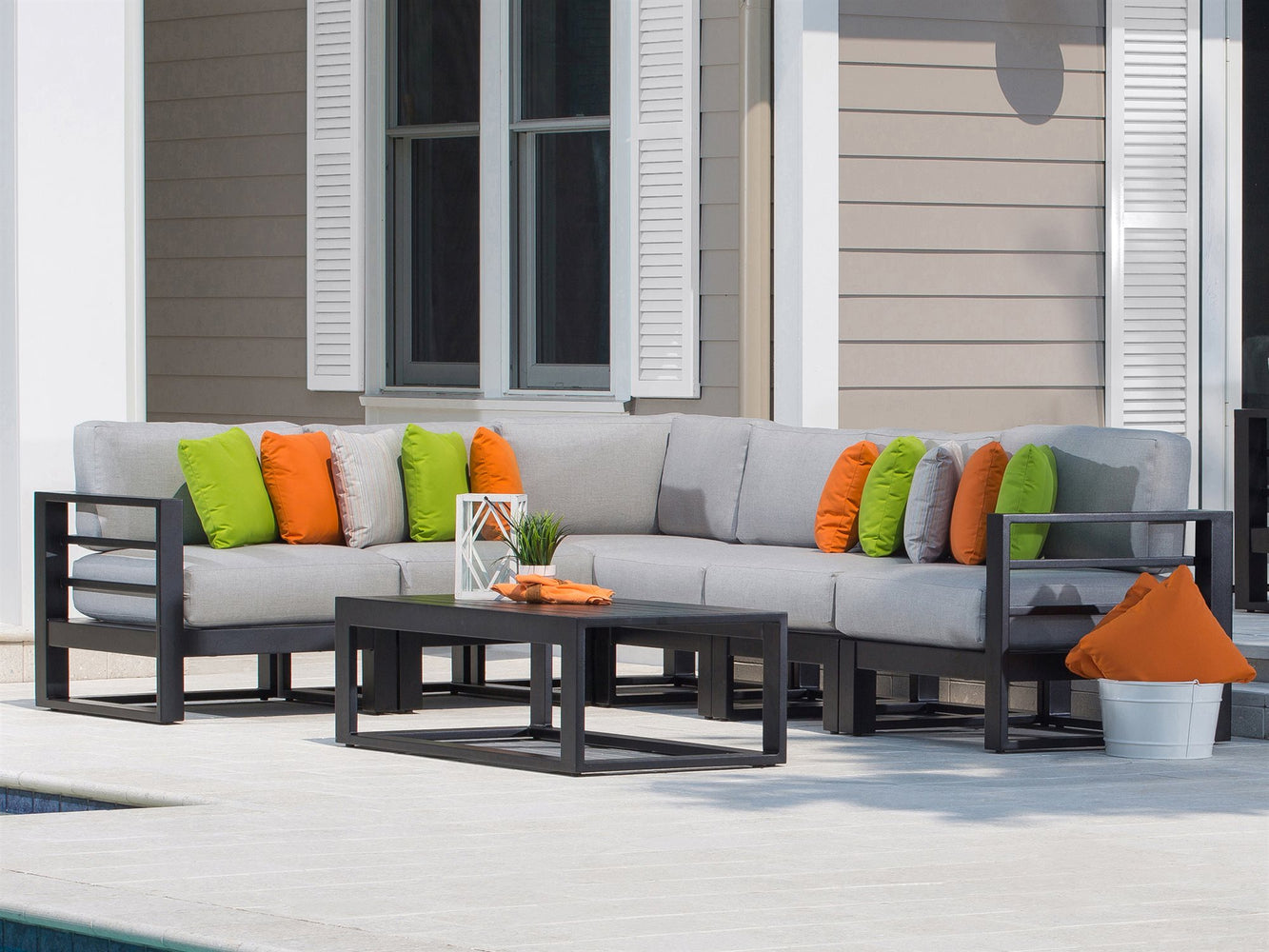 Palermo Sectional Sofa Set Great Backyard Place