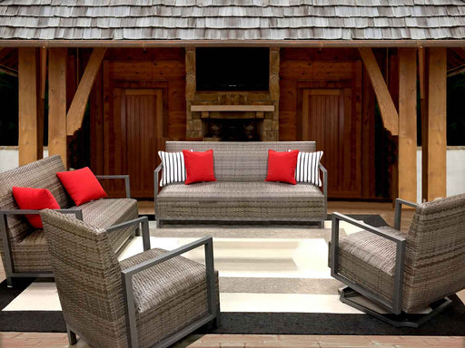 Pinnacle Woven Outdoor Sofa Set by NCI North Cape International