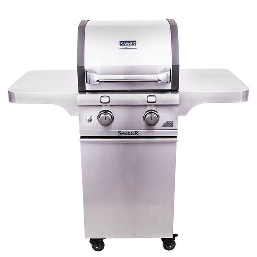 Saber Cast Stainless 2-Burner Gas Grill