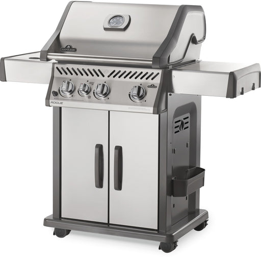 Rogue® 425 Stainless Steel Natural Gas Grill with Infrared Side Burner