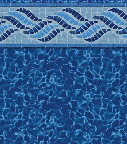 Summerwave Deep Blue Fusion In Ground Pool Liner