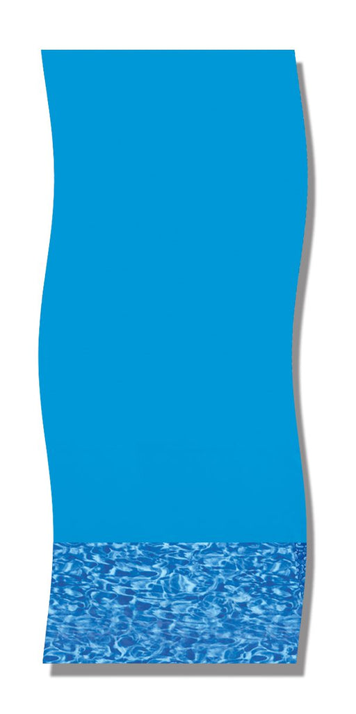 "Swirl Bottom 48""/52"" Height Overlap Above Ground Pool Liner"