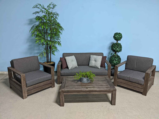 Tobin Outdoor Double Lounge Sofa Set