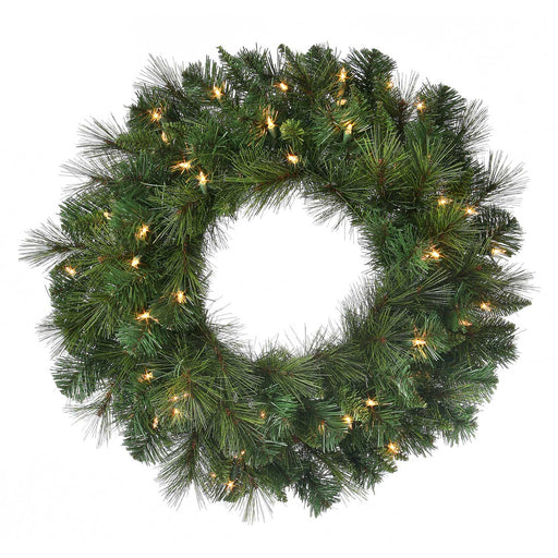 "Belgium Deluxe 24"" Christmas Wreath (Unlit)"