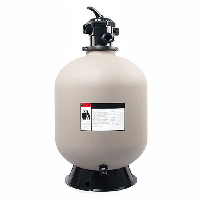 24 Above Ground Pool Sand Filter w/6 Way Valve