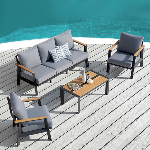 Burton 4 Piece Deep Seating Set