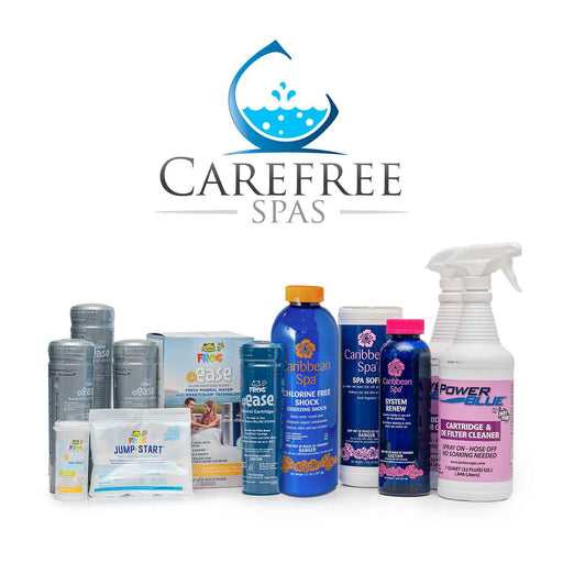 Care Free Spa Chemical Kit (For In-Line Spas)
