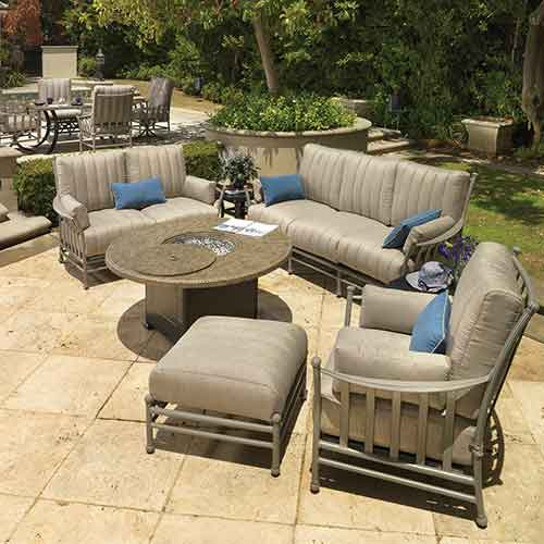 Avanti Outdoor Cast Aluminum Sofa Set
