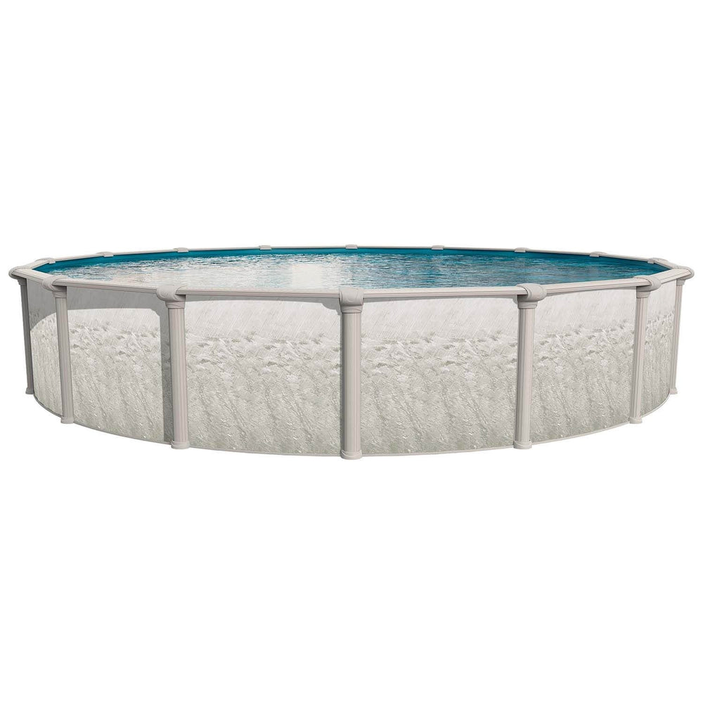 Heritage Oval Above Ground Pool Kit Silver Great